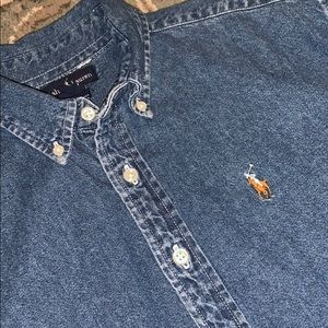 Polo Ralph Lauren Chambray Button Up Large